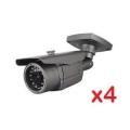 """1/3"""" SONY Effio-E 700TVL, 3.6mm Lens BS 700"""